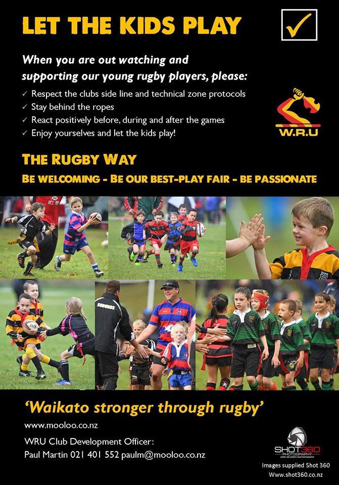 Waikato Central Junior Rugby Play Hard But Play Fair